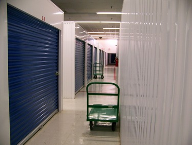 Inside our CLean and Well Maintained Storage Facility