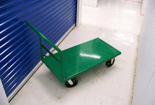Dollies and Pushcarts Provided by Climate COntrolled Storage of Hinesville, GA