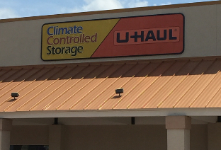 Storefront of Climate Controlled Storage of Hinesville, GA